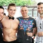 topless waiter crewmen bartender