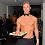 Shirtless Waiter Bartender Party